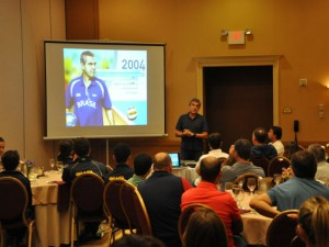 Zé Roberto falou principalmente sobre motivação (Foto: Divulgação/CBH)