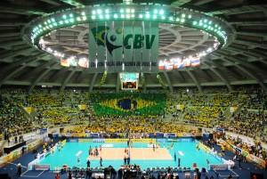 Maracanãzinho é um dos templos do voleibol brasileiro (Foto: Divulgação/FIVB)