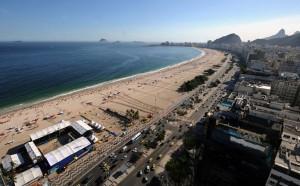 Etapa carioca também será evento-teste para o Rio-2016 (Foto: Divulgação/FIVB)