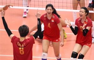 Principais atletas da China estão no Campeonato Asiático (Foto: Divulgação)