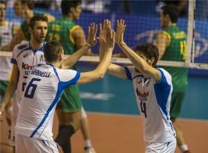 Italianos e australianos estão na mesma chave que o Brasil (Foto: Divulgação/FIVB)
