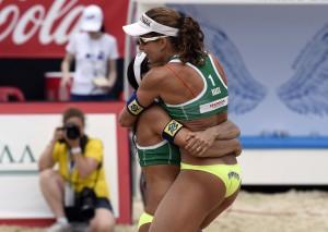 Larissa e Talita estão vivendo excelente fase (Foto: Divulgação/FIVB)