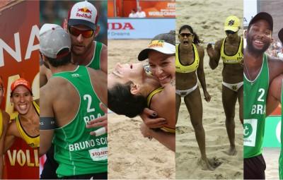 Crédito: Divulgação/FIVB; Montagem: Melhor do Vôlei