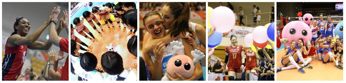 Fotos: divulgação/FIVB