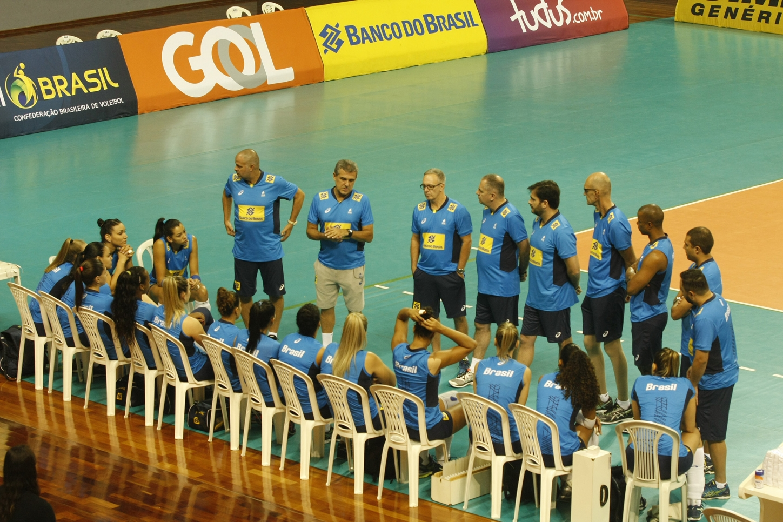 5de620fc3d Crédito  Oswaldo Forte MPIX CBV. A Seleção Brasileira Feminina de Vôlei ...