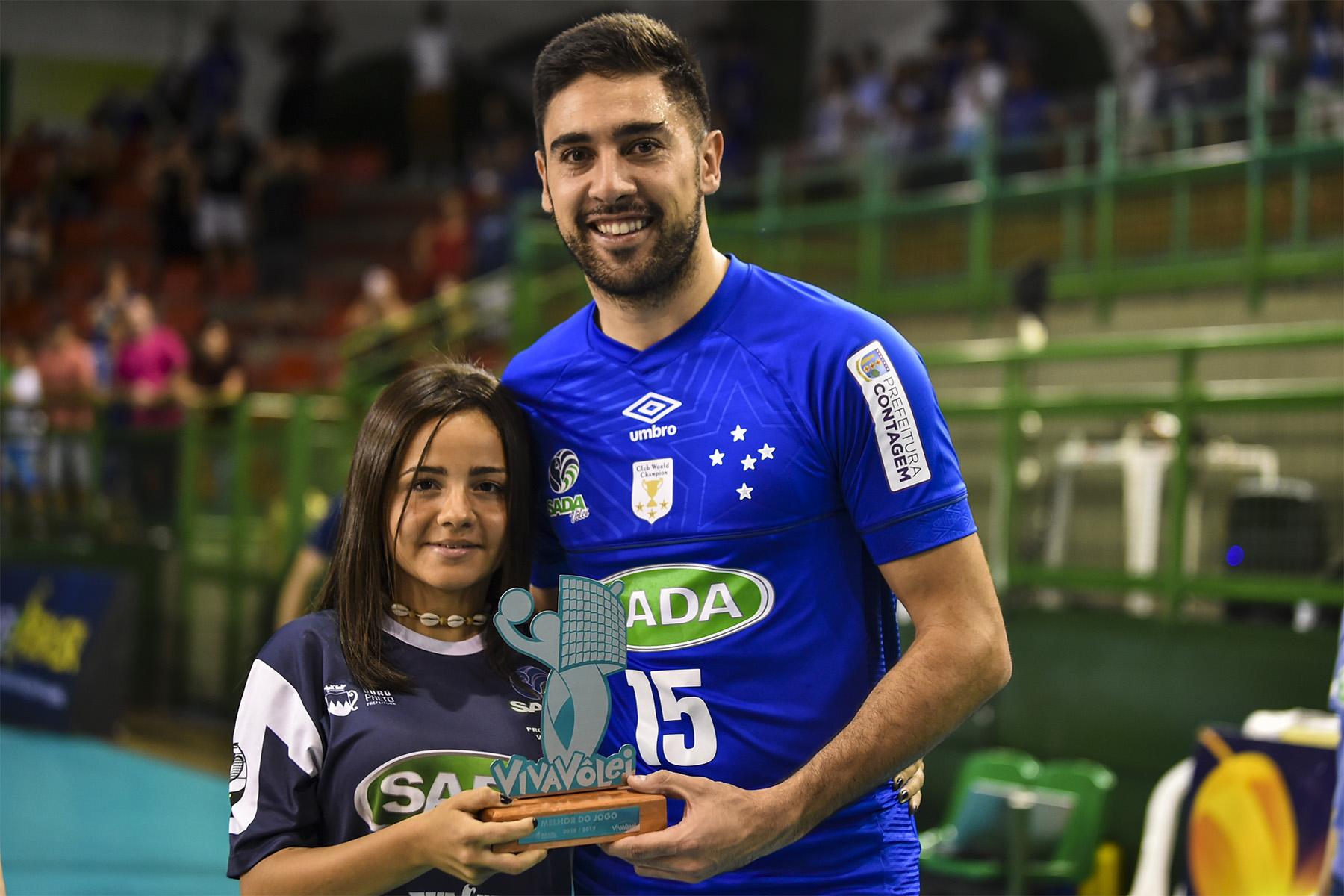 10aae3d0e3 Melhor do Vôlei – Sander comemora atuação do Sada Cruzeiro diante do ...